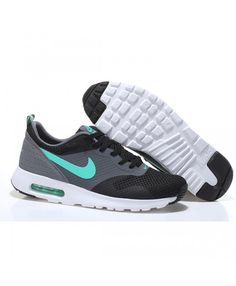 timeless design a74d5 a0309 Cheap Nike Air Max Tavas Running Shoes Grey Green Very bounce and  breathable a fashionable sports