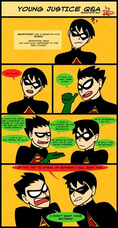 YJ Q and A- Robin Again Again by *AnArtistCalledRed on deviantART