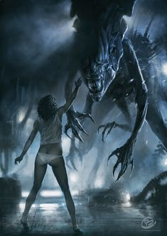 Top 10 Aliens Queens from the Alien vs. Included are the Queen Mother, Matriarch, Empress and other badass Queen Aliens Alien Film, Alien Art, Alien 1979, Alien Vs Predator, Sci Fi Fantasy, Dark Fantasy, Dragons, Giger Art, Alien Queen