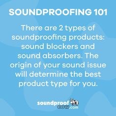 Before you pick out your product let us help you determine your problem. #soundproofing #soundproofcow #sound #chambersburgpa
