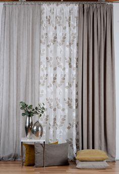 In gewohnter Manier lassen sich mit der Vorhangkollektion » 5900 Chic « exklusive Wohnwelten realisieren. Die ausgewählten Qualitäten verleihen jedem Ambiente eine individuelle Persönlichkeit.  #5900chic #vorhang #gardine #store #SONNHAUS #raumausstattung Koti, Decorations, Curtains, Chic, Design, Home Decor, Cooking, Drapes Curtains, Autumn