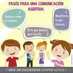 Pasos para una Comunicación Acertiva... #Familia #SemperAltius