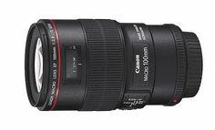 Canon 100mm f/2.8 IS USM Macro Lens