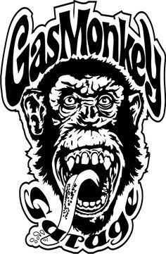 Gas Monkey Calcos - Vinilos 6 Modelos - Hacemos Tu Calco - $ 120,00 en MercadoLibre