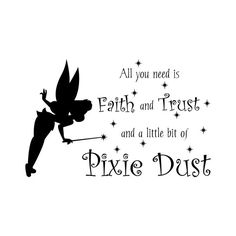 Fairy Princess Decal Quote For Girl Baby Nursery by FleurishWalls