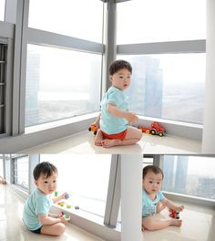Daehan, Minguk, Manse - Song Il Gook congratulates Song Triplets on their Korean Babies, Asian Babies, Cute Kids, Cute Babies, Baby Kids, Song Il Gook, Triplet Babies, Superman Kids, Man Se