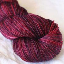 Was gifted some of this gorgeous yarn.  Waiting patiently for the pattern to turn it into something lovely!  : )
