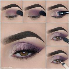 Eye Makeup Steps, Makeup Eye Looks, Beautiful Eye Makeup, Perfect Makeup, Cute Makeup, Summer Eyeshadow, Blue Eyeshadow Looks, Eyeshadow Makeup, Maquillage Cosplay Anime