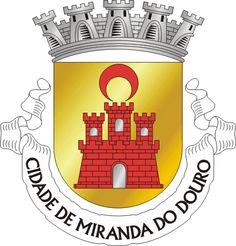 Brasão de Miranda do Douro (português) Miranda de l Douro (mirandês)