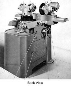Cincinnati No. 2 Cutter & Tool Grinder Model OM Service & Parts Manual
