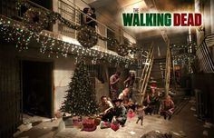 Deck The Halls with The Walking Dead  #thewalkingdead #twd #thewalkingdeadseason7 #twdfamily #twdfinale #amc #walkingdead #rickgrimes #andrewlincoln #norman #normanreedus #daryl #dixon #michonne #chandler #chandlerriggs #carl #carlgrimes #carol #negan #lucille #maggie #glenn #love