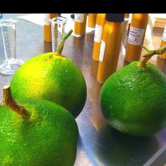 Curious green tangerines