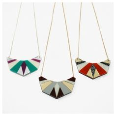 perspex necklace - Google Search Xmas 2015, Chimichanga, Wolf Moon, Whistles, Arrow Necklace, Topshop, Google Search, Bags, Jewelry