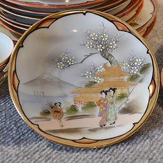 Images For > Antique Japanese Tea Set
