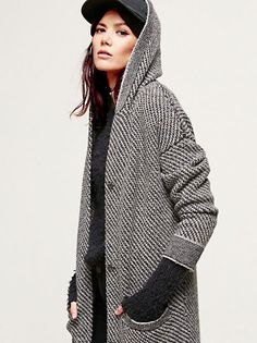 Free People Washed Slouchy Cardi at Free People Clothing Boutique