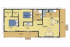 Villa 2 Floor plan