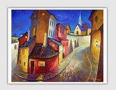 Impresión de Giclee Print lienzo impresión Fine Art por sidorovart
