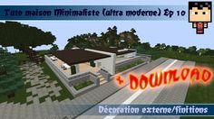 Minecraft: Tuto maison ultra moderne 1 ( minimaliste ) ep 6 | Mes ...