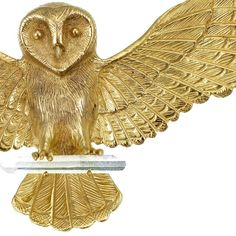 The widespread wings of the wise owl keep a secret. Behind this beautiful creature is a locket, where you can hide your treasures and keep them safe.  Hand carved with stunning detail.  The back of the owl opens up to reveal a secret container #zoeandmorgan new season on line now