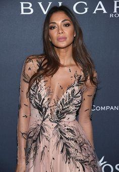 Singer Nicole Scherzinger attends The Weinstein Company's Pre-Oscar Dinner.