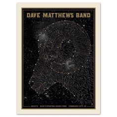 Dave Matthews Band Poster  - 8/23/2013 - Dick's Sporting Goods Park - Commerce City, Colorado
