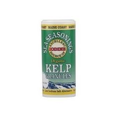 Maine Coast Sea Vegetables Organic Kelp Granules Salt Alternative - Great Sprinkled on Steamed Vegetables
