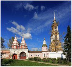 Suzdal city, Russia monastery