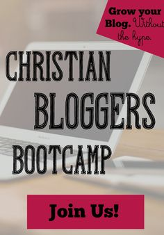 Christian Bloggers Bootcamp | CourseCraft
