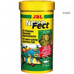 Animalerie  Aliment en comprimés JBL NovoFect  250 mL