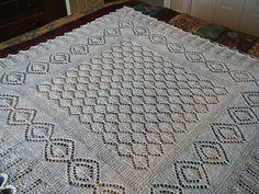 Very nice square shawl