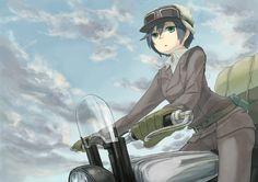 anime: kino's journey, kino