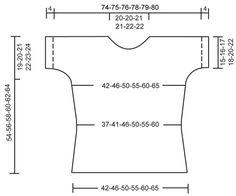 """DROPS 113-20 - DROPS trui van """"Muskat"""" met korte mouwen. Maat S - XXXL. - Free pattern by DROPS Design"""