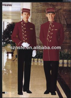 fashion hotel receptionist uniforms /new style hotel receptionist uniforms