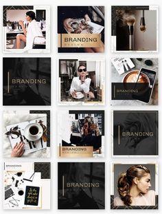 Instagram Grid, Instagram Frame, Instagram Design, Instagram Posts, Instagram Feed Theme Layout, Company Profile Design, Marca Personal, Grid Design, Social Media Design