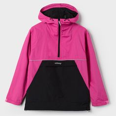 Stussy F'16 Reflective Sports Pullover Berry #stussy #look