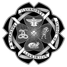SO. EXCITED. to learn about Ilvermorny school of witchcraft and wizardry - which is, according to Rowling, the wizarding school of North America!  The four houses are: Wampus, Thunderbird, Horned Serpent, and Pukwudgie. All four names after magical creatures. I was sorted into Pukwudgie House on Pottermore At Hogwarts I'm a Hufflepuff and happy to be School colours are blue and cranberry❤️ Comment your Ilvermorny and Hogwarts Houses for fun!