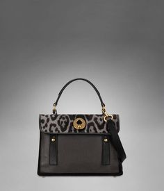 Check out Small YSL Muse Two in Light Sepia Leopard Printed Cowhide & Black Leather at http://www.ysl.com/en_US/product/804873329