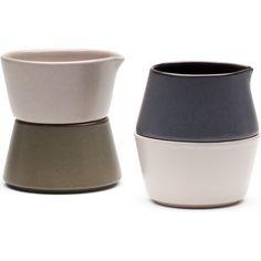 Set of 4 Avva Pinch & Pour™ Bowls design by Teroforma                           | BURKE DECOR