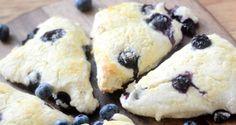 Weight Watcher's Blueberry Scones