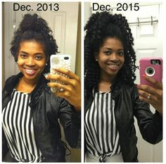 So how exactly do you grow hair long? Get more info about long natural hair on our natural hairstyles website. Natural Hair Transitioning, Long Natural Hair, Natural Hair Growth, Natural Hair Journey, Natural Hair Styles, Long Hair Styles, Relaxed Hair Growth, Natural Beauty, Grow Long Hair