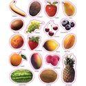 Carson Dellosa Fruit: Photographic Shape Stickers (168008)