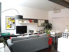 by Yuyu & Gigi Design Residential Interior Design, Open Concept, Living Spaces, Flat Screen, Loft, Modern, Flat Screen Display, Lofts, Open Plan