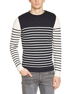 Pepe Jeans Prusik - Pull - À rayures - Manches longues - Homme