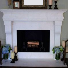 Laurent Fireplace from Cabana Home, Santa Barbara