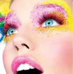 .Yellow.Pink.Orange. Eyes