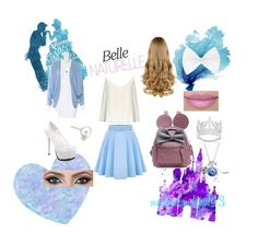 """""""Cinderella'sDaughter"""" by mexicanbambino143 on Polyvore featuring Disney, Finesque, Hellessy, Raey and WithChic"""