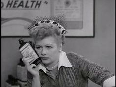 I certainly do love Lucy. Always getting into scrapes, her good-natured and seemingly-innocent clumsiness made her adorable (too much pandering to Desi, though).