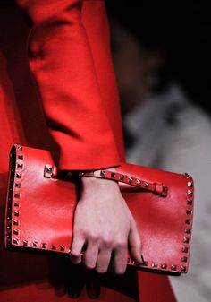 they believe if you carry a red purse you will always have money and never be broke...I'm gonna buy a red purse!