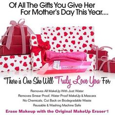 Who needs a Mother's Day gift!?? I have Makeup Erasers on hand! Don't wait until the last minute!