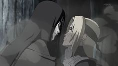 Orochimaru and Tsunade screencap from Shippuden episode 374 〖 Naruto Orochimaru Tsunade 〗